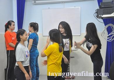 khai giảng khóa học diễn viên
