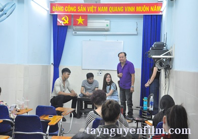 chiêu sinh lớp diễn viên