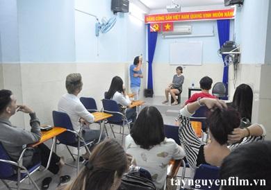 lớp học làm diễn viên chuyên nghiệp