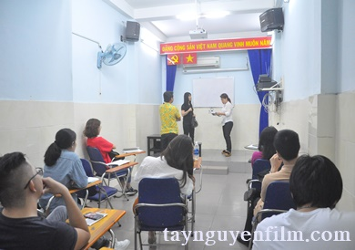 khóa học diễn viên điện ảnh tại Tây Nguyên Phim